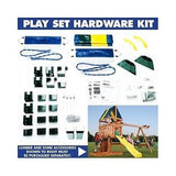 Wooden Swing Sets Kit Outdoor Play Playground Backyard Kids Fun Hardware ONLY