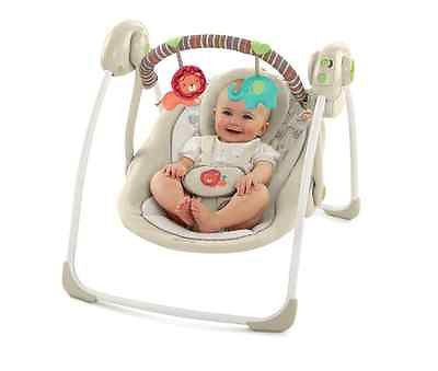 Baby Swing Infant Portable Swings Music Player Chair Seat Folds Toys Cradle NEW!