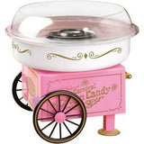 Cotton Candy Maker Hard Candy Sugar Floss Electric Machine Carnival Party Pink