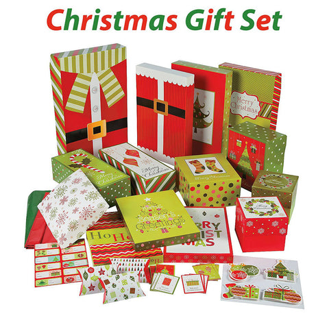 67 Pcs Christmas Gift Wrapping Set