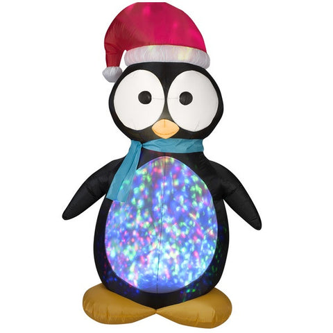 Inflatable Kaleidoscope Projection Penguin