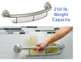Grab Bars Shower Rails Safety Handle Shelf Handicap Bathroom Bath Bar Tub Grip