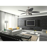 Ceiling Fan Light Kit With 5 Reversible Blades
