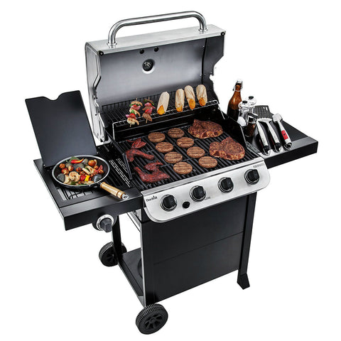 Char Broil 4 Burner Gas Grill Black