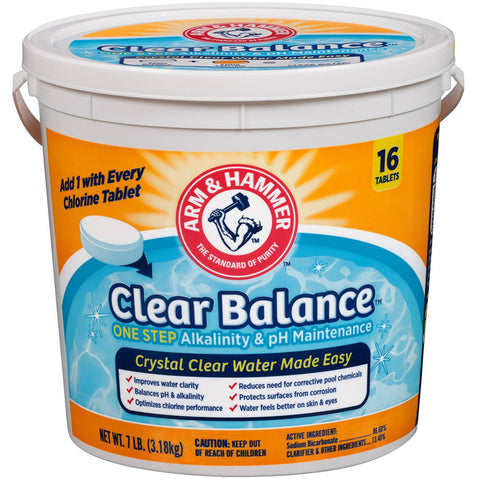 Clear Balance Pool Maintenance Tablets