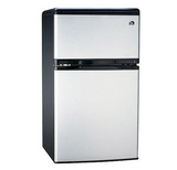 Compact Mini Fridge 3.2 Cu Ft Refrigerator Freezer Dorm Appliances Home Office