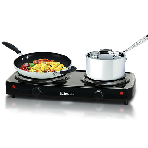 Double Burner Hot Plate