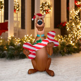 5ft Gemmy Airblown Inflatable Christmas Scooby Doo
