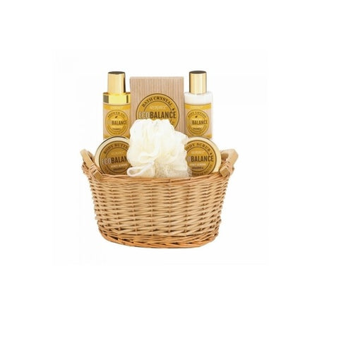 Honey Almond Bath Set Body Butter Lotion Shower Gel Gift
