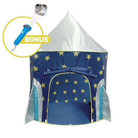 Kids Rocket Ship Play Tent