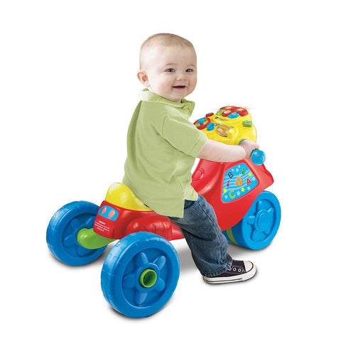 Toddler Red 3 in 1 Learning Tricycle