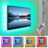 LED Light Strip TV Backlight w/ Remote