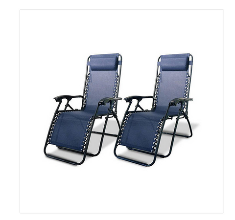 2 Pack Zero Gravity Lounge Chairs