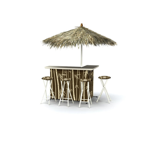 Outdoor Patio Tiki Bar