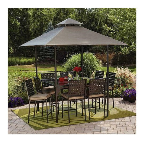 Outdoor Patio Dining Set With Canopy