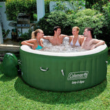Coleman Inflatable 4 Person Hot Tub