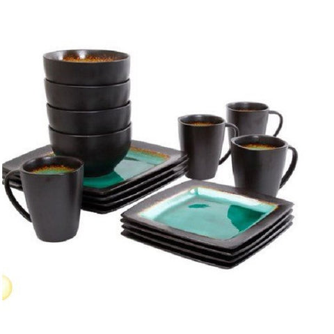 Square Dinnerware Set 16 Pieces