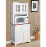 Tall Microwave Cabinet