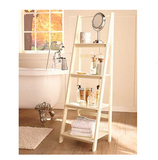 4 Tier Wooden Ladder Shelf Or Baskets