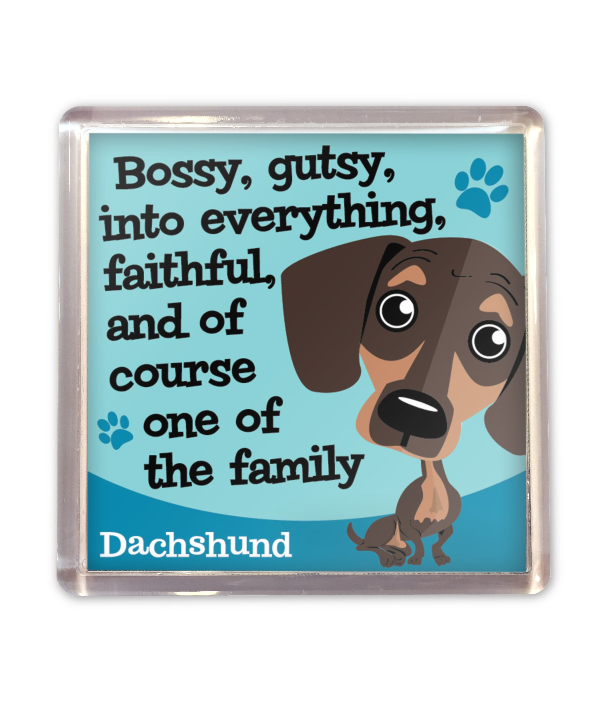 H&H Wags & Whiskers Magnet: Dachsund - Gift Horse Online