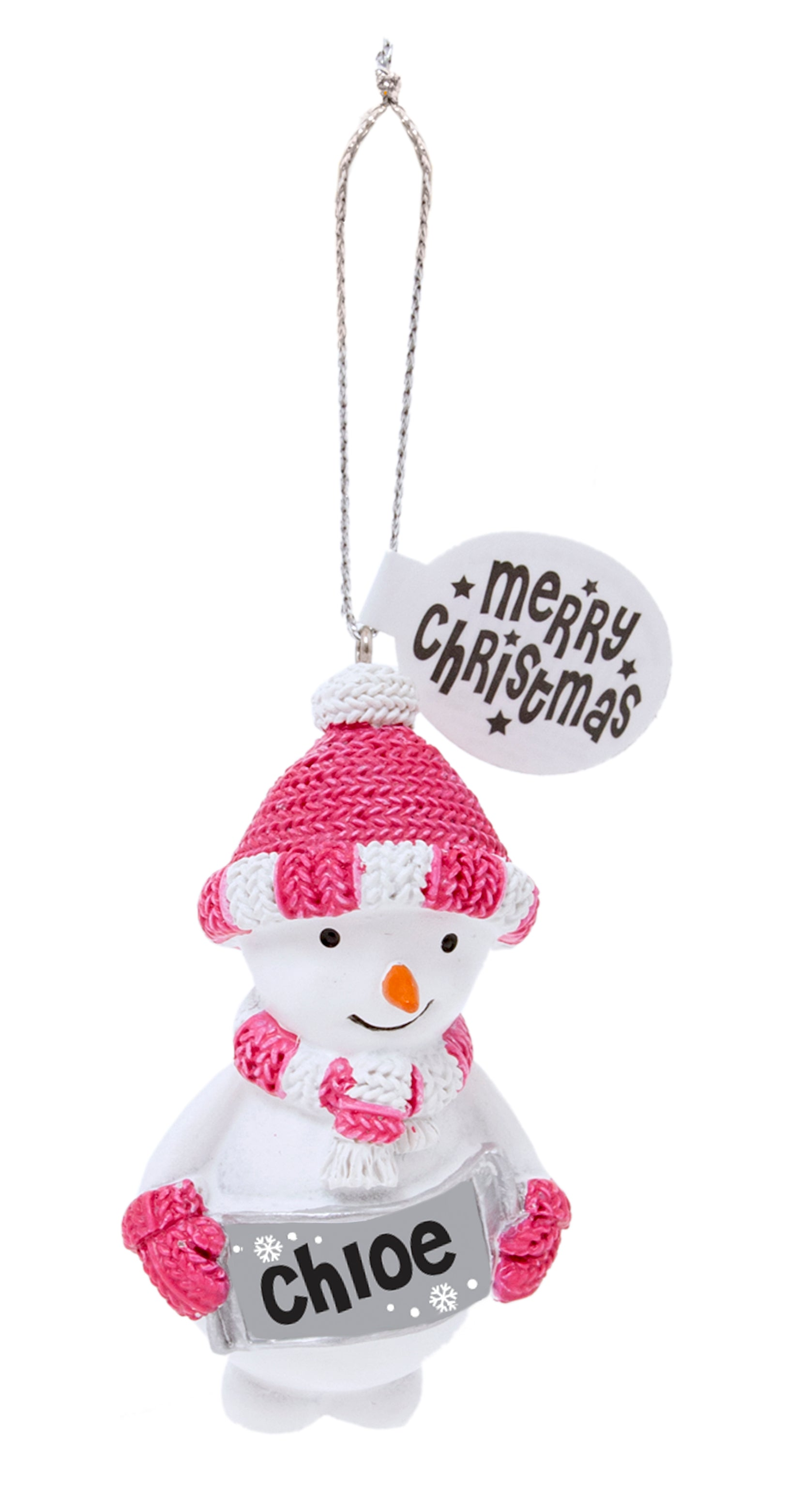Gift Horse Online: H&H Festive Friends Tree Decorations - Chloe on