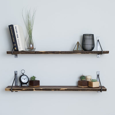 The Chambers Live Edge Shelves