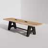 A-Frame Conference Table (10ft) - Live Edge