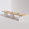 A-Frame Conference Table (14ft) - Live Edge