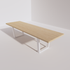 Trapezoidal Base Conference Table (10ft)