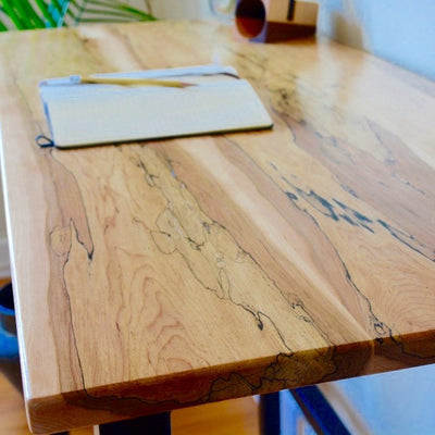 Spalted Maple Desk