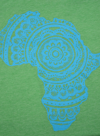 Youth Blue-on-Green Tee