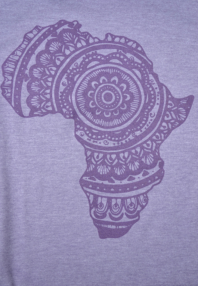 Women's Purple Ringer Tee