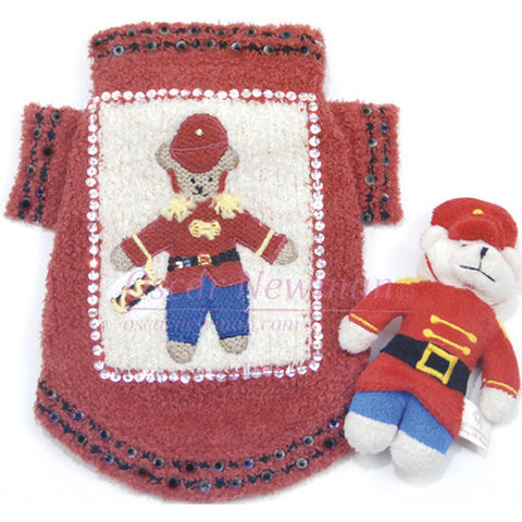 Beary Merry Christmas Sweater w/ Bear Toy