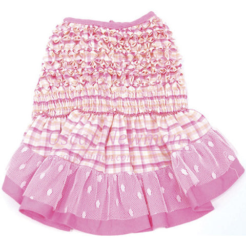 Check Please Hand-Smocked Dress