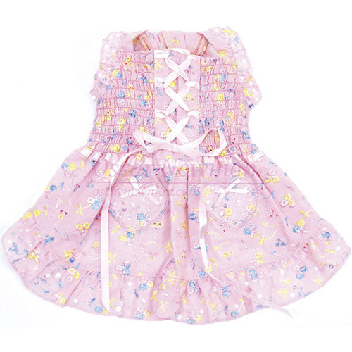Hearts & Tarts Corsette Hand-Smocked Dress