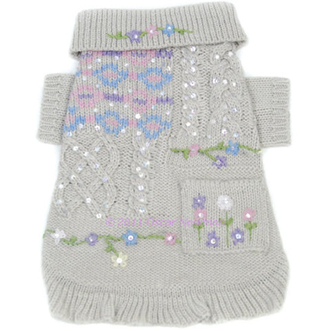Little Sweet Hearts Sweater & Scarf Set