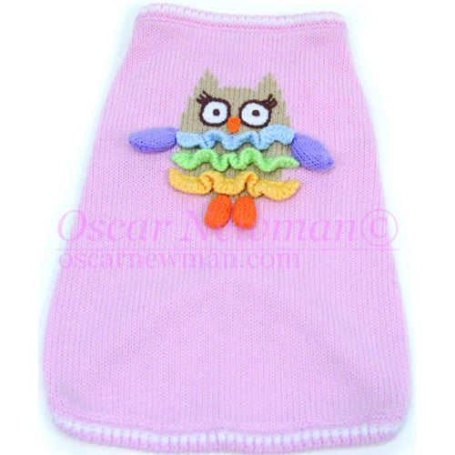 Owl Walk All Over You Sweater