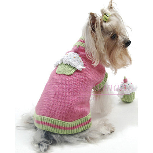 Sprinkles Cupcake Sweater w/squeaky toy