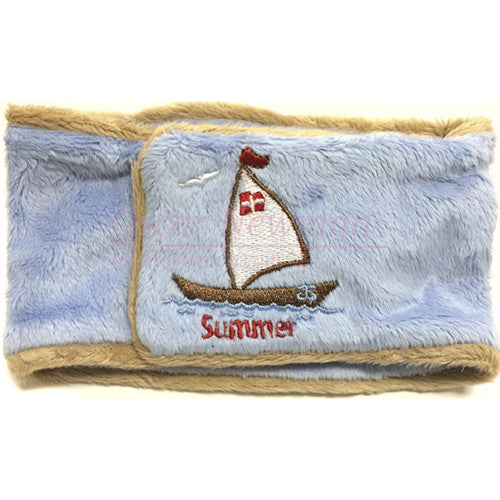 Summer Breeze Sailboat Belly Band