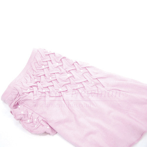 Think in Pink Hand-Smocked Tee