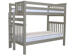 Bunk Bed Tall Twin over Twin End Ladder Gray for only $399