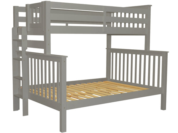 Twin Over Twin Bunk Bed With Ladder Assembly Instructions