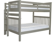 Bunk Bed Full over Full End Ladder Gray for only $595