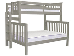 Bunk Bed Twin over Full End Ladder Gray for only $475