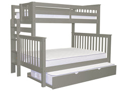 Bunk Bed Twin over Full End Ladder Gray + Trundle for only $615