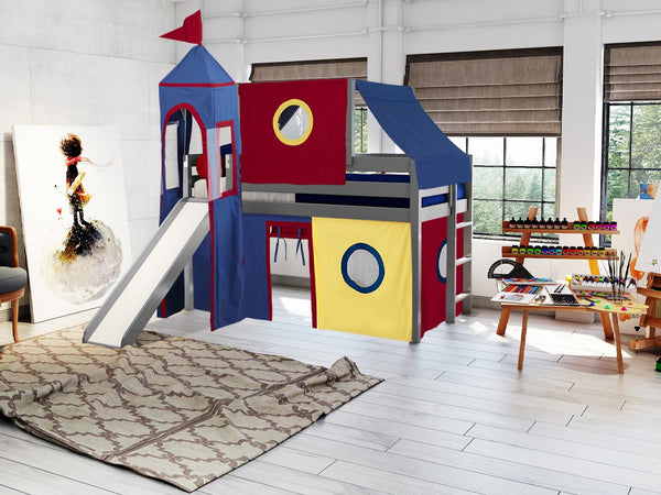 This Low Loft Castle Bed will look great in your Home