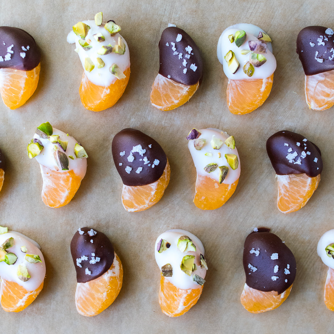 TASTY TUESDAY: Coconut and Chocolate Dipped Oranges