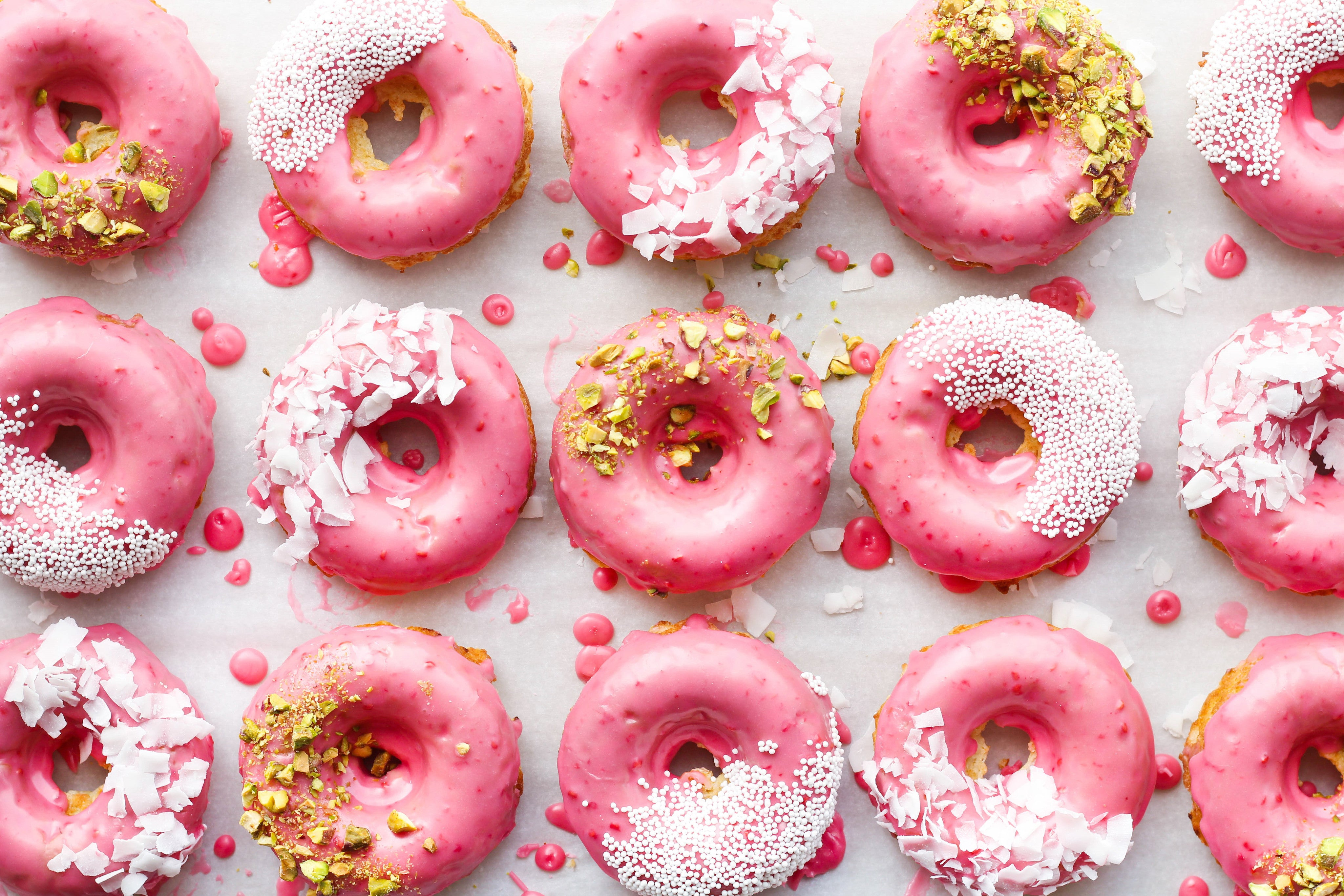TASTY TUESDAY: Coconut Raspberry Donuts (National Donut Day!)