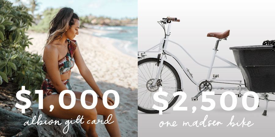 Contest Giveaway from Madsen Cycles and Albion Fit