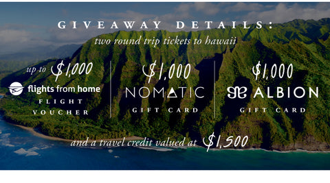 Win a trip for 2 to Hawaii